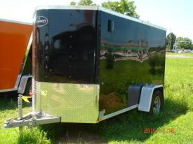 2015 Integrity 5 x 10' v Front, Flat Roof