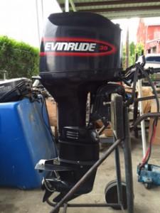 Evinrude Tiller Electric 3