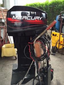 1999 25 hp. Mercury Electric Long Shaft