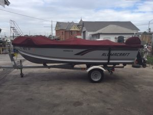 1997 Alumacraft Fisherman 150