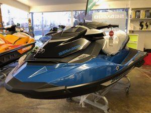 2018 Sea Doo GTI SE 155 (Blue)