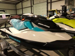 2018 Sea Doo GTS (Blue)