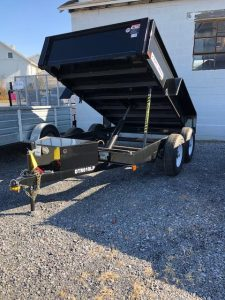 2018 Bri-Mar Dump Trailer DTR610LP-10-D