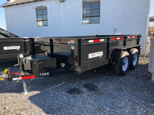 2018 Bri-Mar Dump Trailer DT712LP-LE-12-A
