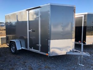 2018 Integrity 6 x 12 Enclosed Trailer - V-Front, Flat Roof