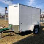 2019 Integrity 5 x 8 White Enclosed Trailer 2