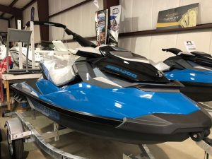 2018 Sea Doo GTI SE (Blue)