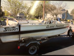 1993 Sylvan 14' Classic Fisherman