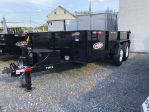 2019 Bri-Mar Dump Trailer DT714LP-LE-14-A