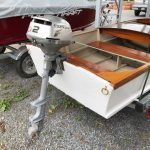 New 1955 Model Custom Craft Runabout 2