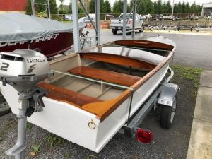 New 1955 Model Custom Craft Runabout