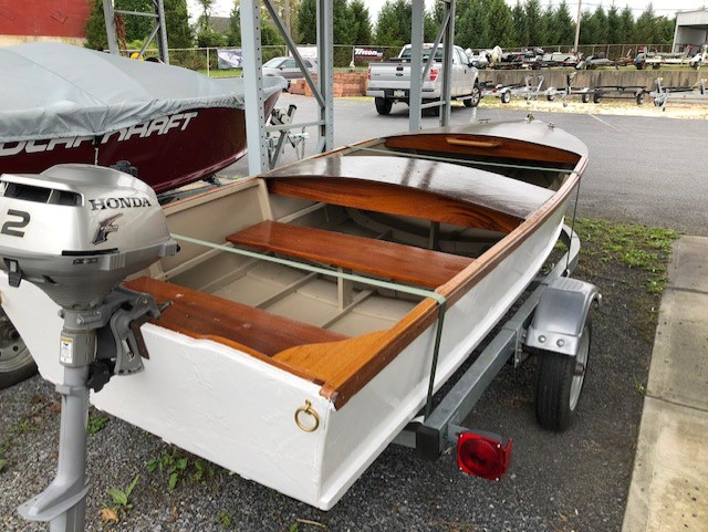 New 1955 Model Custom Craft Runabout 1