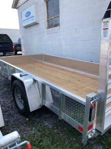 flat boat trailer