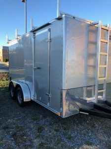 2020 ITI Honor Line 7 x 14 Enclosed Work Trailer