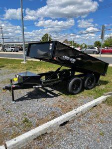 2021 Bri-Mar 6X10 Deck over Dump Trailer