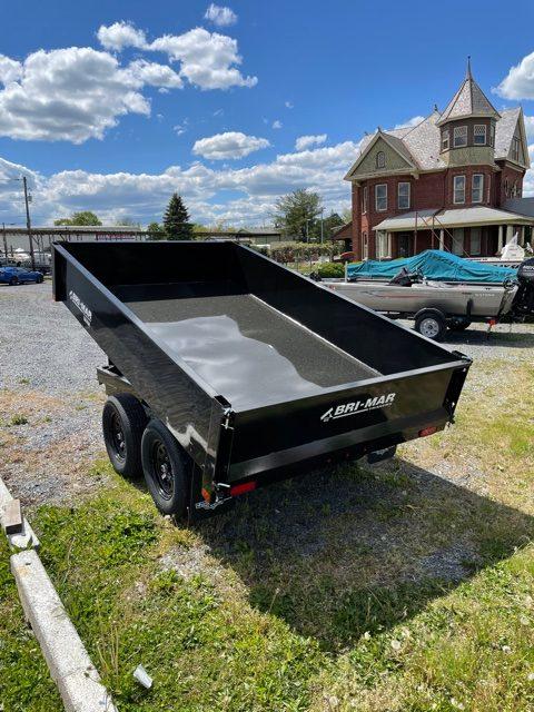 2021 Bri-Mar 6X10 Deck over Dump Trailer 12