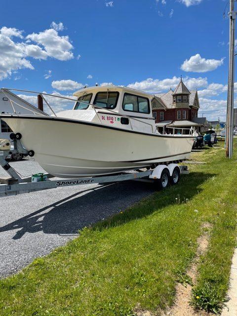 1998 Steiger Craft Chesapeake 23 Hardtop 27