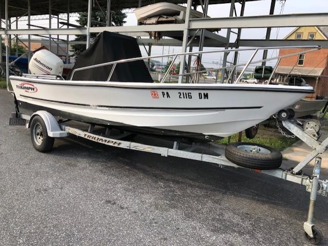 2004 Trick's Boat Triumph 170CC 17